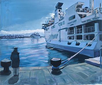 Peinture sur toile de  : Hommage a Hugo Pratt