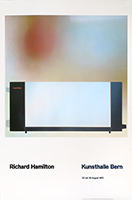 Affiche d'exposition offset de  : Kunsthalle Bern II