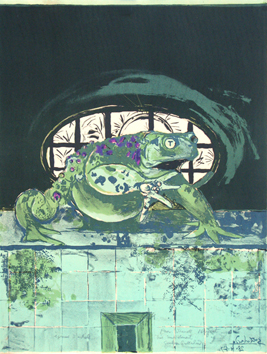 Original signed lithograph de  : Toad II