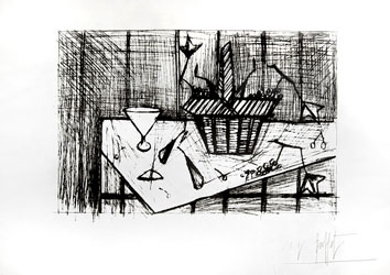 Etching de  : Still life