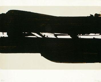 Soulages Pierre : Lithographie originale : Lithographie 39