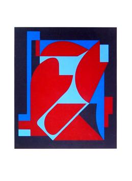 Vasarely Victor : Sérigraphie originale signée : Jamy