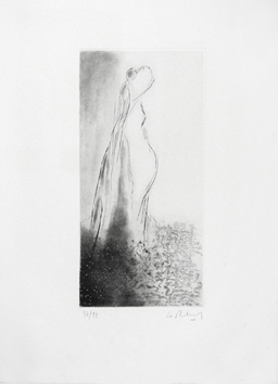 Original signed etching de La Bourdonnaye A. (de) : Without title V