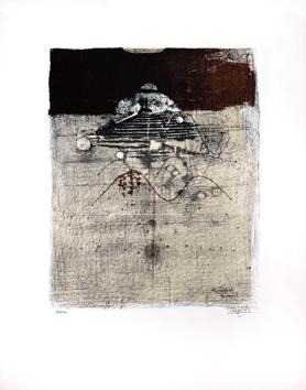 Friedlaender Johnny : Lithographie signée : Pâques I