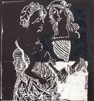 Ver y descubrir José Ortega, obras, estampas, serigrafías ...