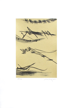 Original signed lithograph de  : Composition without title II