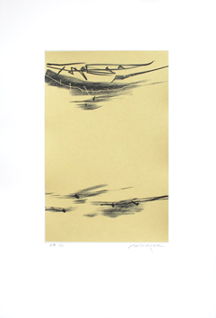 Original signed lithograph de  : Composition without title III