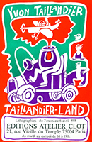 Lithograph poster de Taillandier Yvon : Lithographies