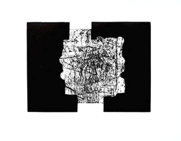 Chillida Eduardo : Gravure originale : Saludo a Parmenides
