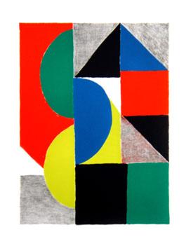 Delaunay Sonia : Lithographie originale : Venise