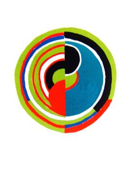 Delaunay Sonia : Lithographie originale signée : Signal