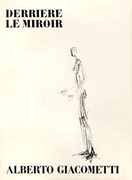 Giacometti Alberto : DLM lithographies : DLM n°98