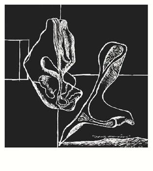 Le Corbusier : Lithographie originale : Devinez vous-même