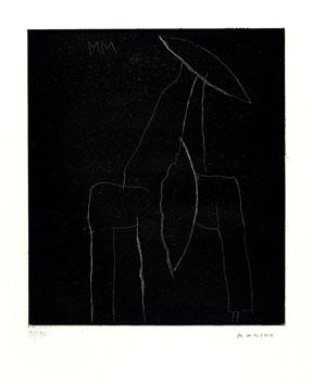 Matisse Henri : Gravure linogravure originale : Rose