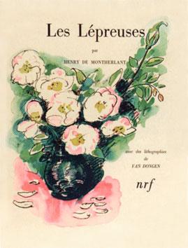 Van Dongen Kees : Livre : Les lépreuses