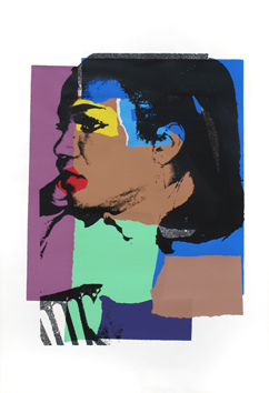 Warhol Andy : Sérigraphie originale signée : Ladies and gentlemen