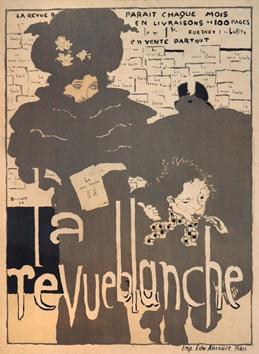 Bonnard Pierre : Lithographie originale : La Revue blanche
