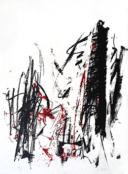 Original signed lithograph de  : Composition VIII