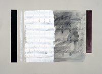 Acrylique sur papier signée de  : Struttra dinamica
