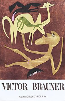 Affiche d'exposition de  : Galerie Alexandre Iolas