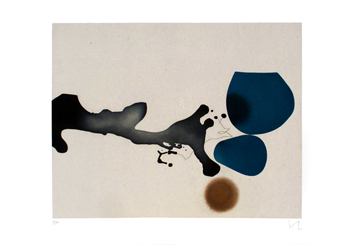 Pasmore Victor : Original etching aquatint : Punto di contatto 2