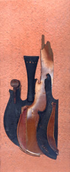 Sculpture de  : Tables de violon