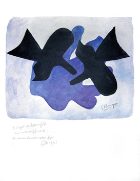 Braque Georges : Affiche originale : Oiseaux