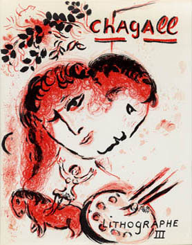 Chagall Marc - Chagall Lithographe III