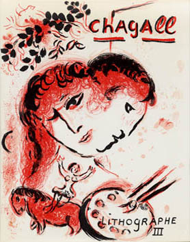Catalogue raisonne de  : Chagall Lithographe III, 1962-1968