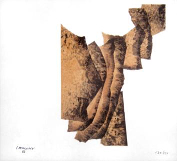 Chillida Eduardo : Lithographie originale signée : Corrélation