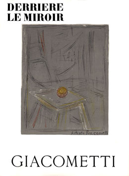 Giacometti Alberto : DLM lithographies : DLM n° 65