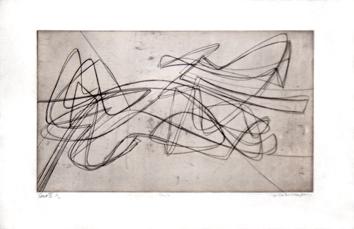 Hayter S.-William : Gravure originale signée : Ceÿs