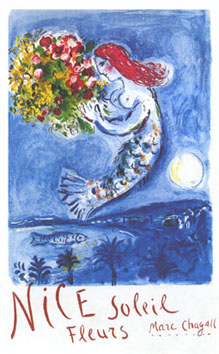 Chagall Marc : Affiche : Baie des Anges