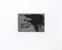 Original signed etching de  : Unknown title III