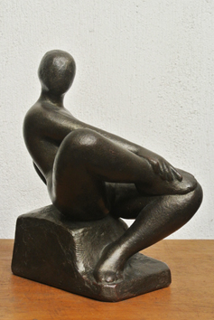 Original signed sculpture de  : L'insoumise