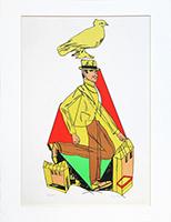 Signierte Originallithographie de  : Hommage à Picasso
