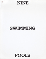 Libro illustrato de  : Nine Swimming Pools and a Broken Glass