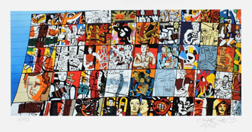 Signed print de  : Tribute to Léger