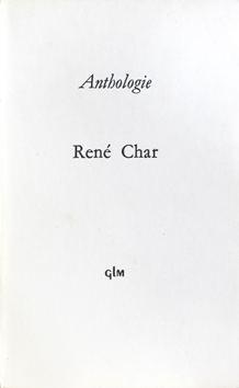Livre original de  : Anthologie