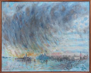 Masson André : Huile originale : Venise