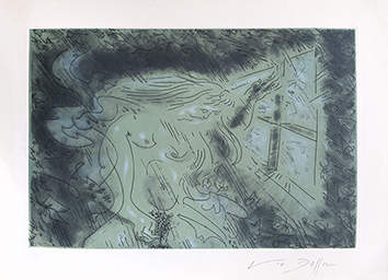Original signed aquatint de  : Death 2