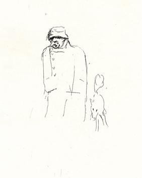 Bonnard Pierre : Gravure originale : Dingo