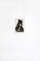 Gravure originale de  : Berthe Morisot, 2ème état