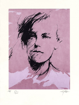 Book with lithograph de  : Regards, Arthur Rimbaud