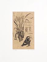 Monotype original signé de  : Composition sans titre XXXIII