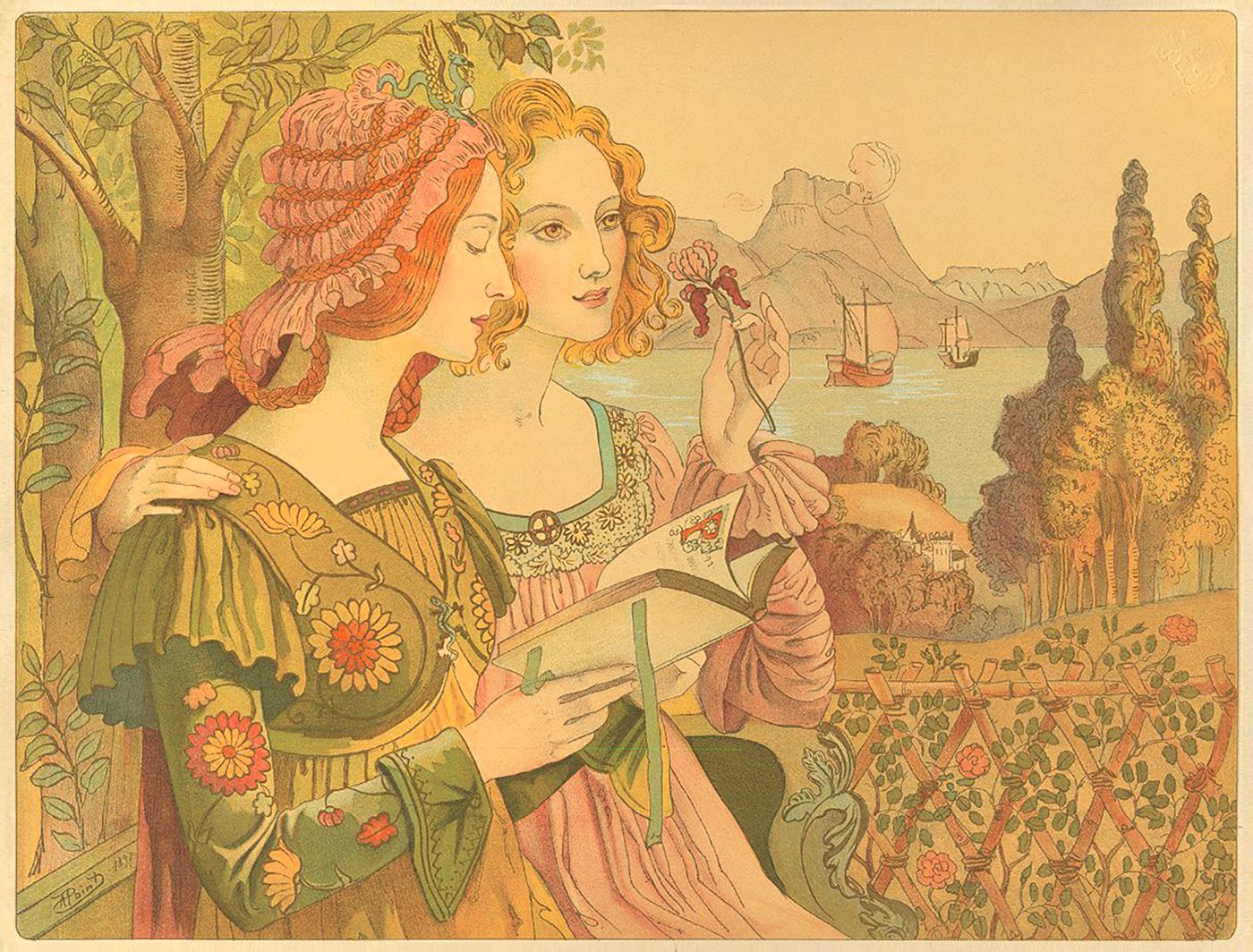Original lithograph de  : La légende dorée