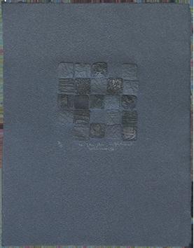 Gravure originale signée de  : Le jeu du solitaire IX