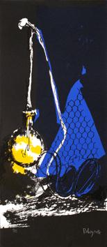 Rebeyrolle Paul : Lithographie originale signée : Affiche avant la lettre 74