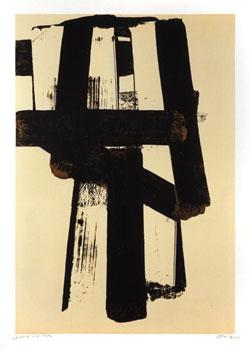 Soulages Pierre : Lithographie originale signée : Lithographie n°31