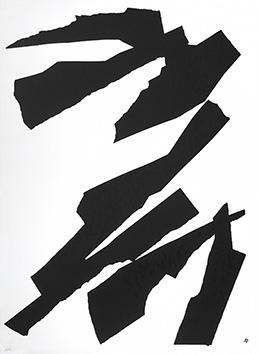 Lithographie originale de  : Composition XII